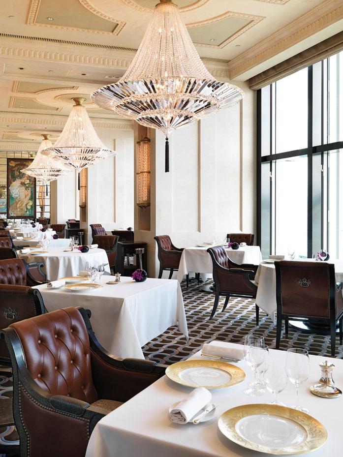 Caprice Restaurant at The Four Seasons Hotel Hong Kong