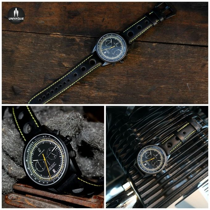 It's a wrist watch inspired by my collection from 70`s, i designed it with a HQ…