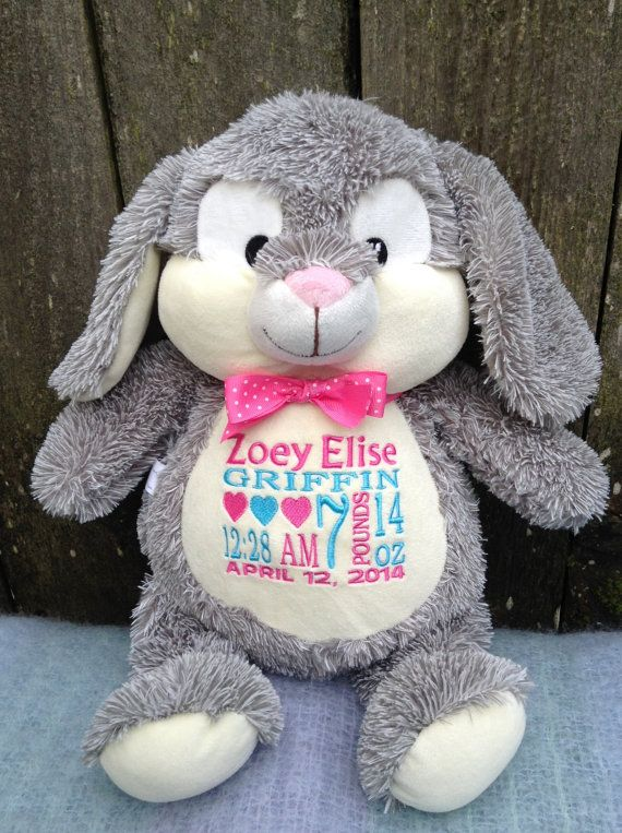 439 best personalized baby gifts images on pinterest animal personalized baby gift monogrammed baby gift embroidered bunny birth announcement by worldclassembroidery 3999 baby gift negle Gallery