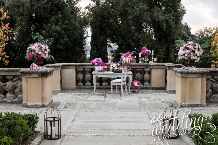 Florence wedding planned by @SposiamoVi - Wedding Planner Italy For info e-mail: info@italianweddingplanners.com
