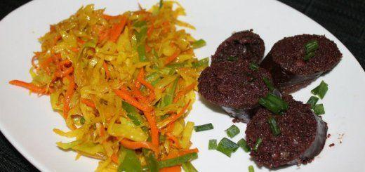 Recette de Achards de légumes et boudin noir par Koi i mange zordi à découvrir sur CuiZineLokal