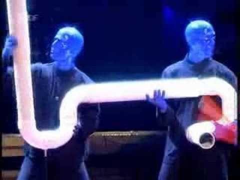 Blue Man Drum Bone