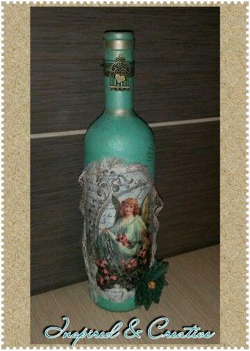 Angel bottle
