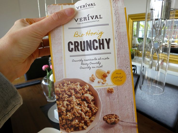 Verival's Bio Honig Crunchy is not only good for breakfast but also for baking! Bine uses it for her Mini cheesecakes.