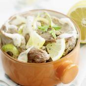 Blanquette de veau au citron - une recette Viande