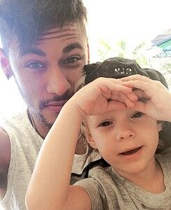 Neymar and davi, aw they're like the family I ever wanted