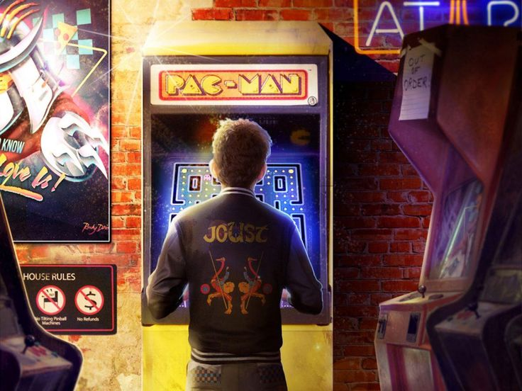 Awesome Video Game Arcade Flyers  #Retrogaming
