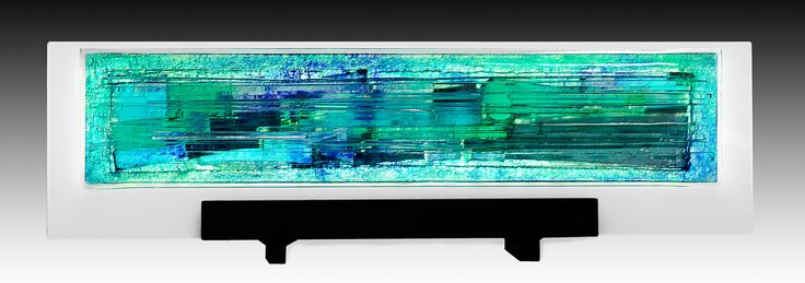Magical Mystery in Aqua by Alicia Kelemen (Art Glass Sculpture) | Artful Home
