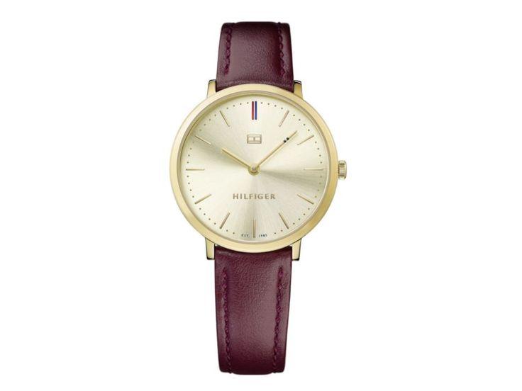 Tommy Hilfilger Ultra Slim TH.178.169.2 Reloj para dama color vino