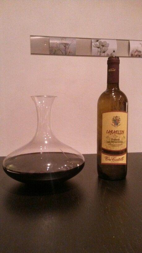 Barbera del Monferrato 2005 - importiert aus dem Piemont. Cantina Tre Castelli, Montaldo Bormida ... erstaunlich... trinkreif.