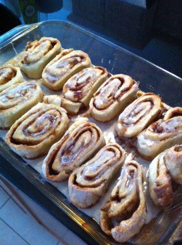 Gluten Free Cinnamon Rolls from Bob's Red Mill GF Pizza Crust Mix