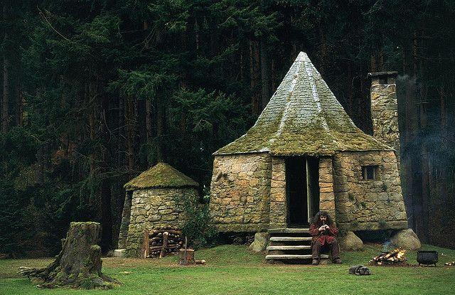 tiny stone home