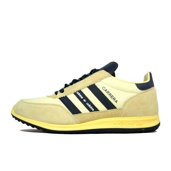 Adidas Adi Carrera (beige/ white).