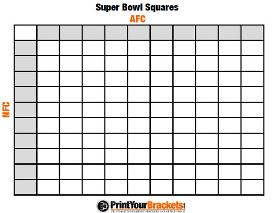 Super Bowl Pool Ideas how to play super bowl squares Super Bowl Party Printables Including Several Versions Of Squares A Quiz Bingo And More