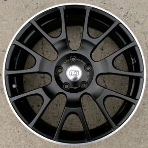 "Ron Jon Legacy 7 19"" s Black Rims Wheels Mazda CX5 2013 Up 19 x 8 0 5H 48 
