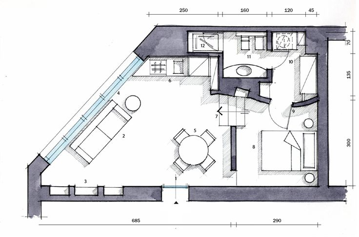 Pi di 25 fantastiche idee su planimetrie dell for Piccole planimetrie della cabina avvolgono il portico
