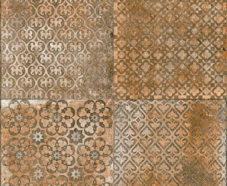 Da coleção Peças Especiais, o porcelanato HD da linha Vintage (60 x 60 cm) exibe textura destonalizada em paredes e pisos internos e externos. Da Villagres, por R$ 40 o m² na CNR.