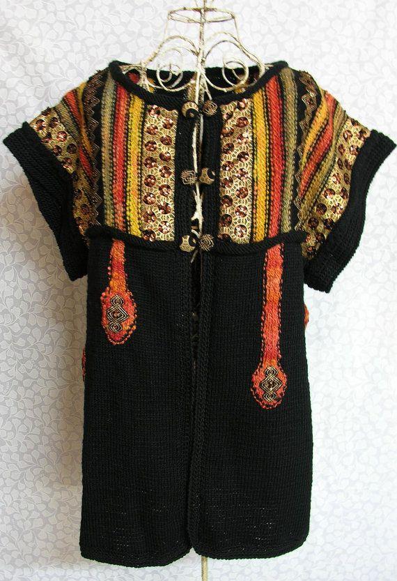 Black and Copper Baubles Gilet/Vest on Etsy, $200.00