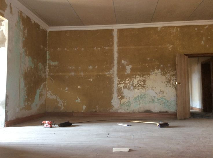 Skirting is done in main bedroom