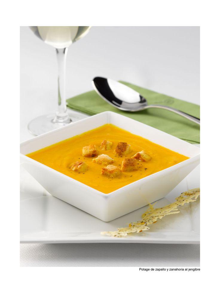 Anímate con un Potage de zapallo y zanahoria al jengibre. Junta a tu familia y disfruten de una crema que los llenará de energía. ¿Quién dijo que el invierno no era rico?