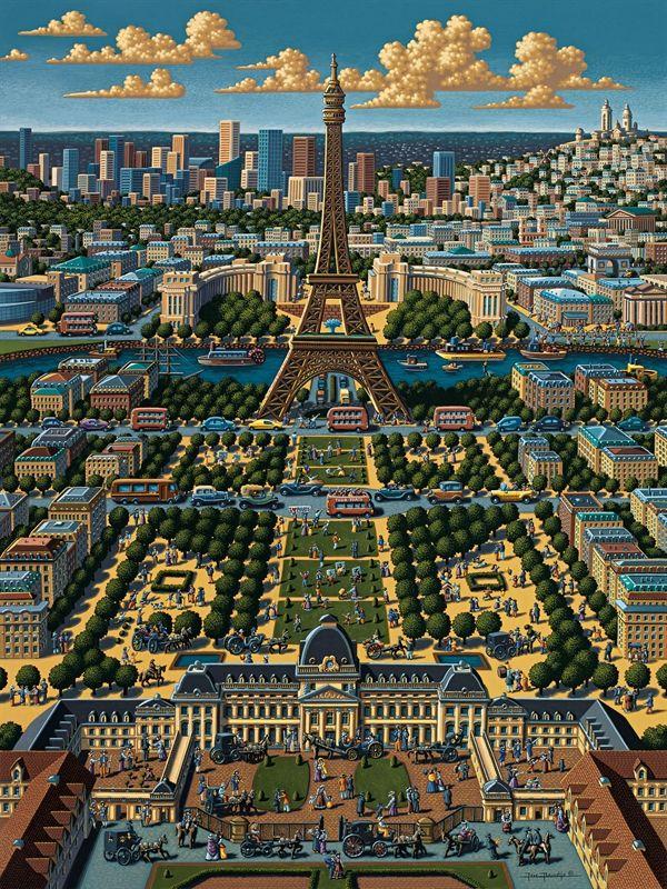 Paris Puzzle by Eric Dowdle