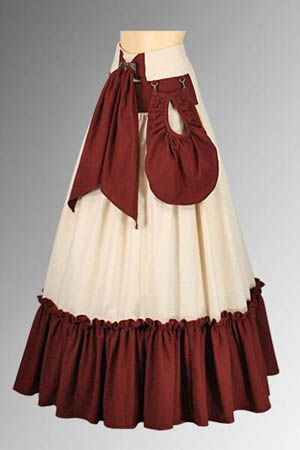 Clearance Skirt No. 145 - 46.99USD - Medieval and Renaissance Clothing, Handmade by Your Dressmaker