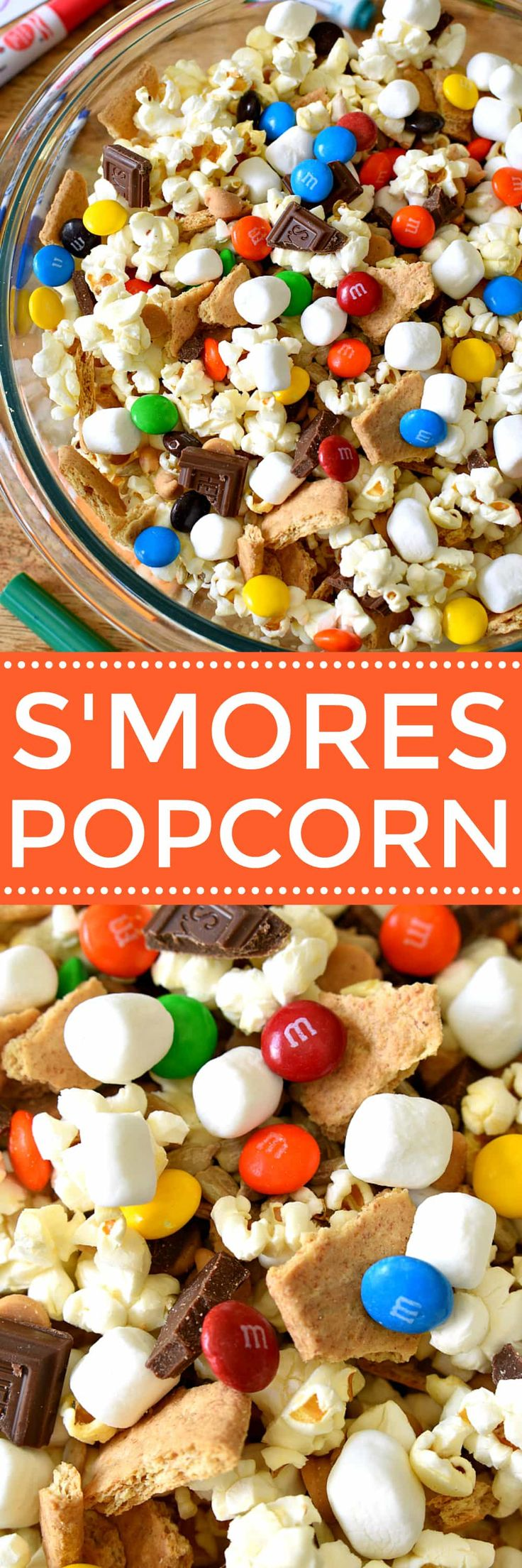 S'mores Popcorn and Fruit Shoot juice drinks - 2 simple ways to celebrate childhood and let kids just be kids! (Snack Mix)