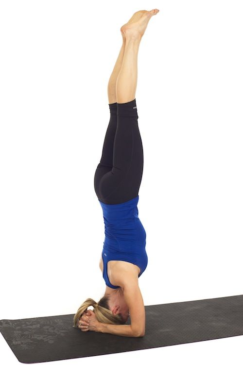 How to Do a Headstand by @Kristin McGee