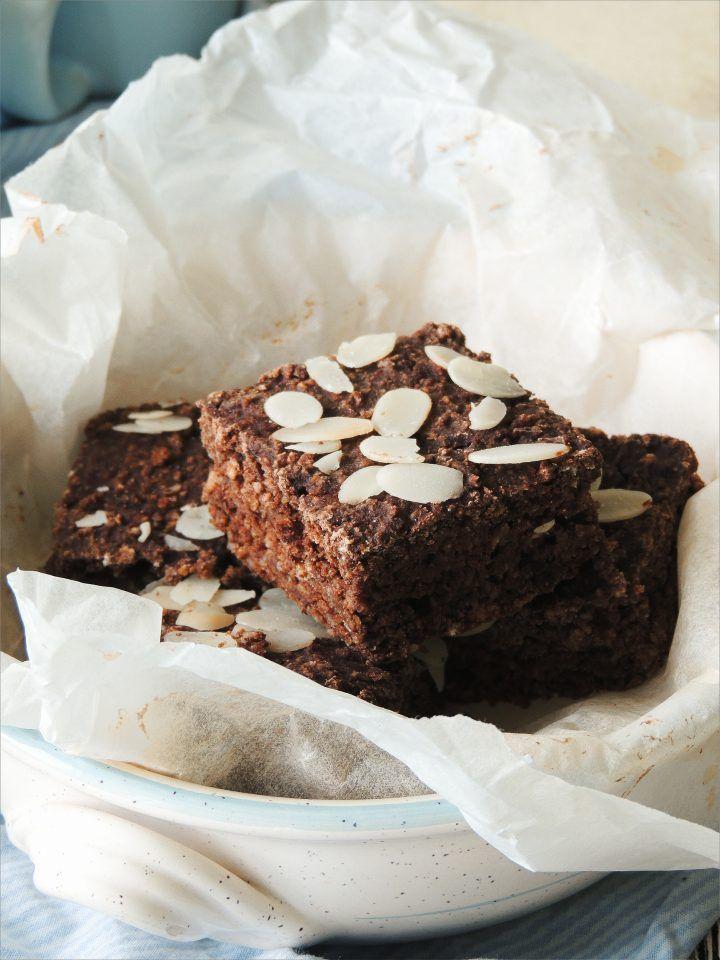 Brownies gluten free - senza grassi e uova