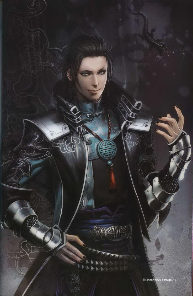 Dynasty Warriors 8 - Jia Chong, artwork