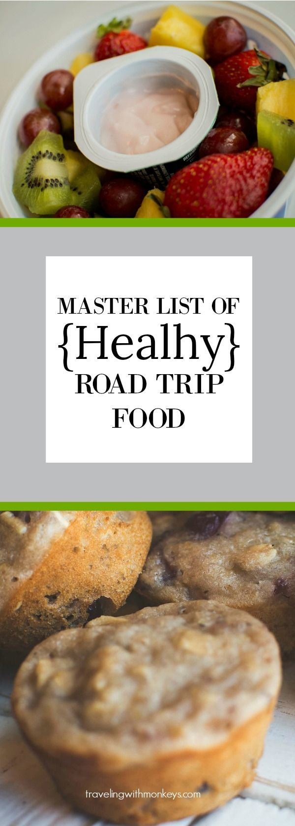 Healthy Road Trip Recipes | travelingwithmonkeys.com