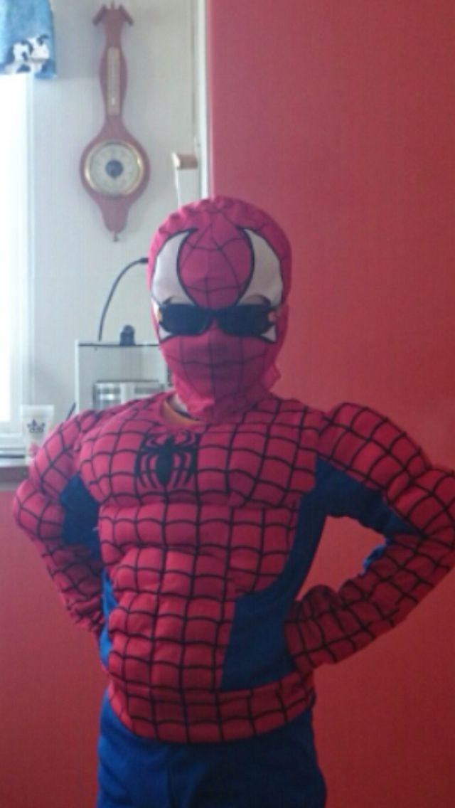 My cool Spider-Man son