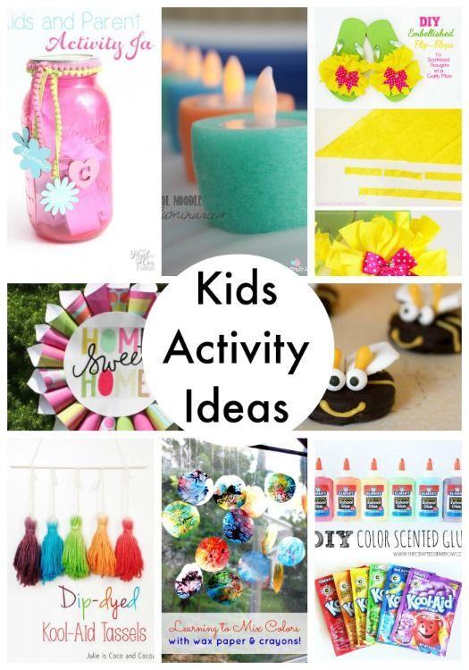 20 kids activity ideas for summer!