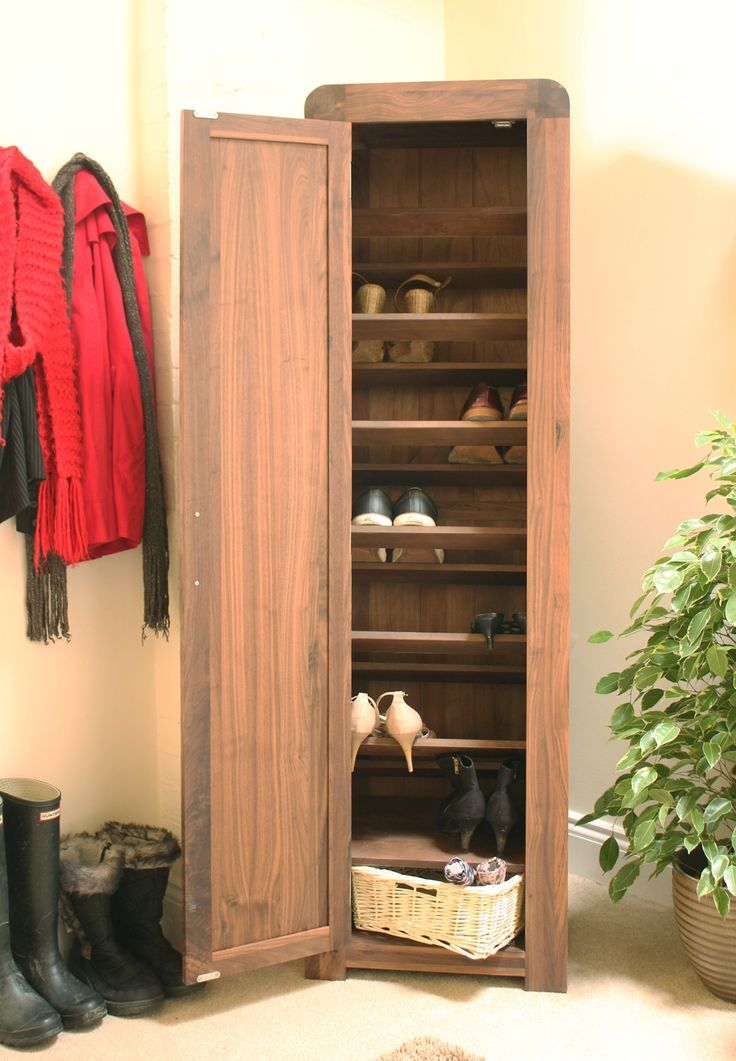 strathmore solid walnut furniture shoe cupboard cabinet. superb solid walnut tall shoe cupboard crafted from the highest grade selected is a very high quality timber with dense grain strathmore furniture cabinet p
