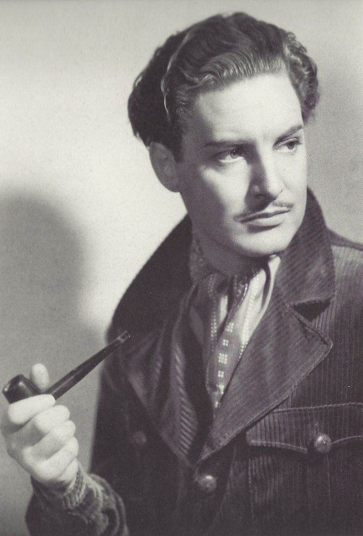 Robert Donat, 1937, winner of the Best Actor Oscar (Goodbye, Mr. Chips). Not extremely well-known, Donat suffered from chronic asthma, which affected his career.