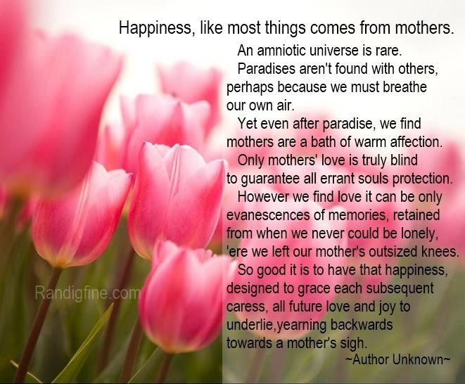 Quotes For Wonderful Mothers On Mothers Day
