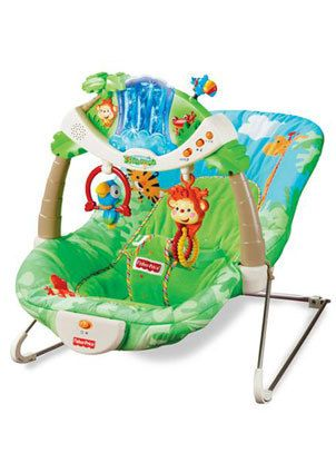 Fisher-Price Bouncer seat... my babies all LOVED their bouncer seat!  The more lights, music, and toys, the better!  #Babycenterknowsgear  @BabyCenter
