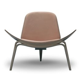 The Shell Chair by Hans J. Wegner 1963 By Carl Hansen