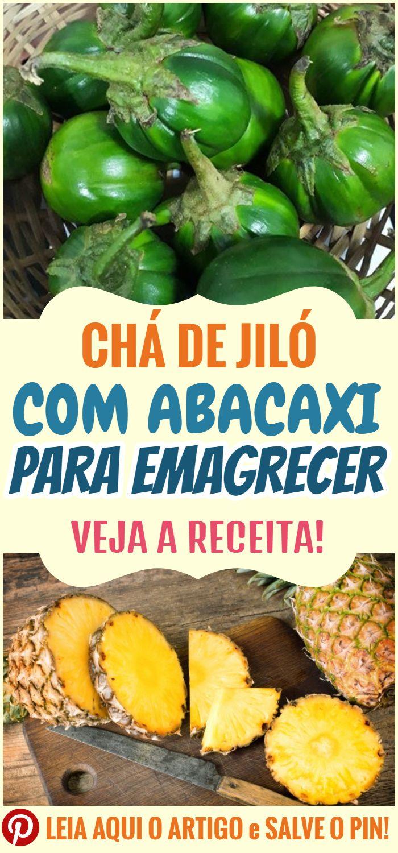 Cha De Jilo Com Abacaxi Para Emagrecer Pimentas Receitas Sucos