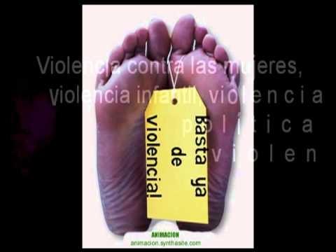 Violencia infantil, violencia contra las mujeres, violencia politica, violencia economica...  ¡Basta ya de violencia!