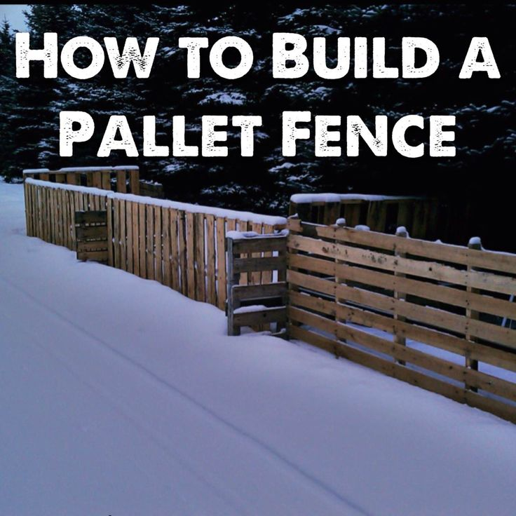How to Build a Pallet Fence that stands the test of time at a super low cost. We built it at our Permaculture Homestead!