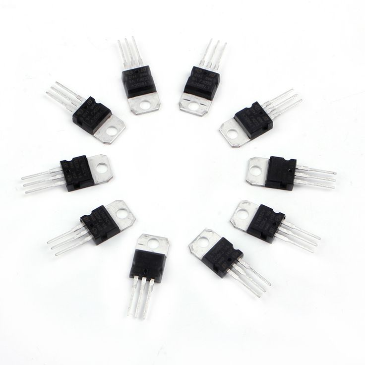 OOTDTY 10Pcs L7805CV TO-220 7805 LM7805 MC7805 Three Terminal Voltage Regulator 5V 1.5A #Affiliate