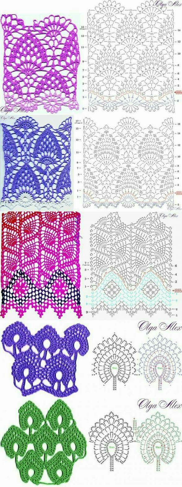 Pineapple crochet patterns