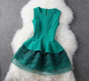 Slim Sleeveless Vest Dress