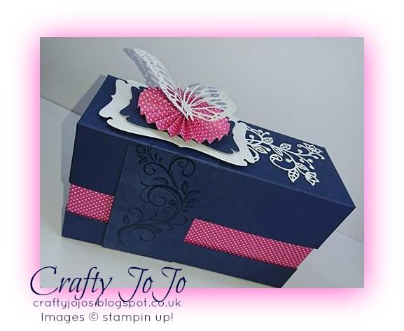 Good afternoon friends and followers,     i would like to show you my newest make, and it´s a quite big gift box, that fea...