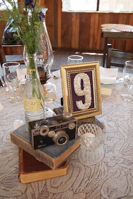 DIY Craft Projects Thrifted and Re-purposed Wedding - Trash to Treasure - Architectural Salvage