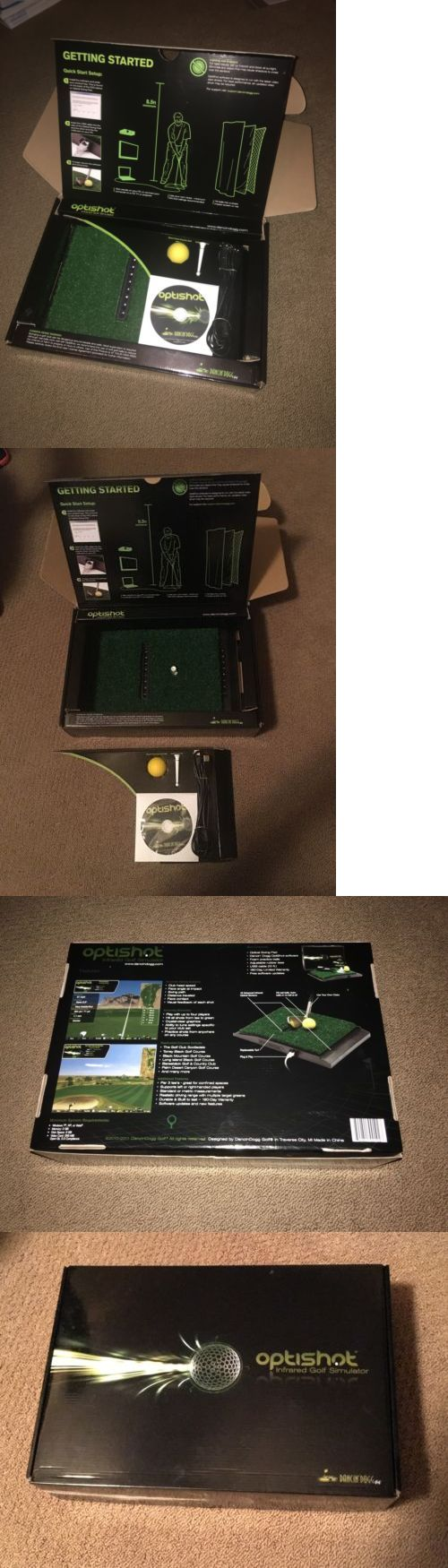 Swing Trainers 83037: Optishot Golf Simulator - New - Open Box -> BUY IT NOW ONLY: $250.0 on eBay!