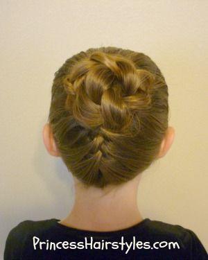 Superb 1000 Images About Gymnastics Hairstyles On Pinterest Updo Short Hairstyles Gunalazisus
