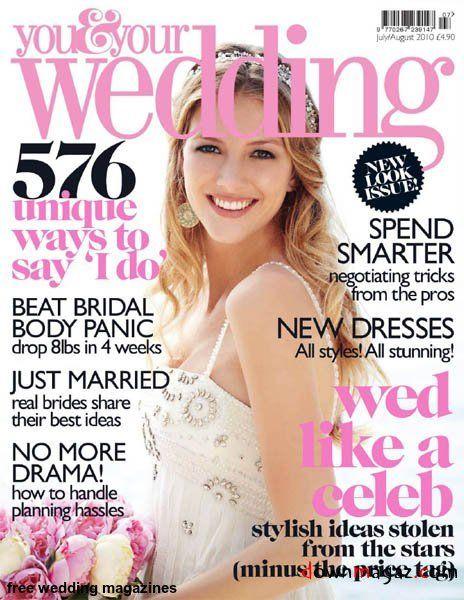 free wedding magazines by mail uk