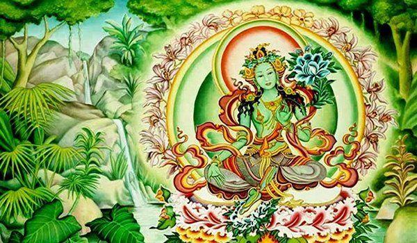 Om tare tuttare ture sohaes un mantra sagrado que se repite cuando se realiza la meditación y para evocar a la divinidad a realizar una protección, ante aquellos sucesos de la naturaleza como terremotos, inundaciones,